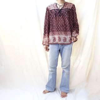 BajuTua / Vintage / Indian Covered Cotton Top