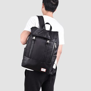 Black laptop computer travel to work large-capacity waterproof backpack-bp002