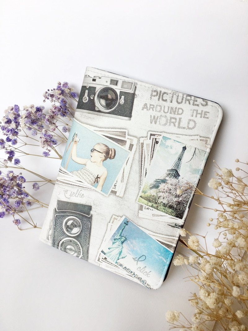 "Hand a gift""Multi-purpose passport""sky paris / passport folder travel abroad Valentine's Day birthday Christmas gift"
