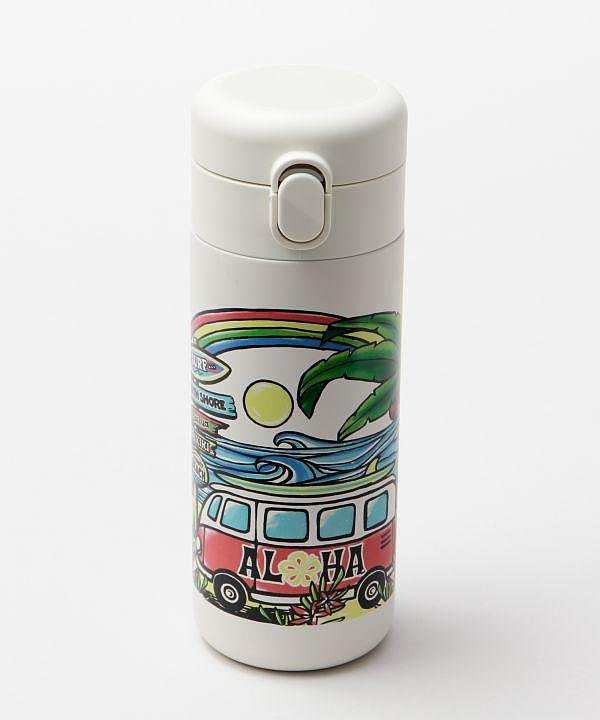 Hawaiian Motif Water Bottle