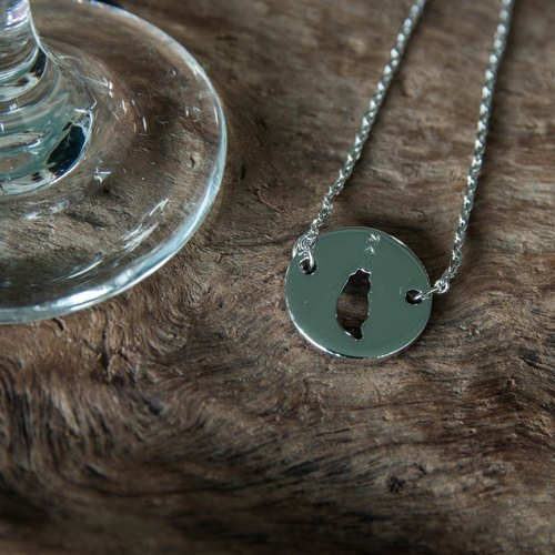 #islandpride 925 Silver Minimalistic ❖ TAIWAN ❖ Necklace by izola.co [limited edition]