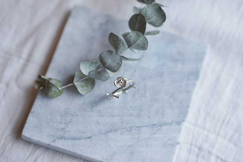 Hydrangea Series | 925 Silver Activity Rings