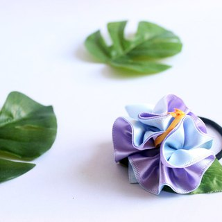 3ways hibiscus accessory,Ponytail Holder(lp),hair bow,hair accessory,ukulele
