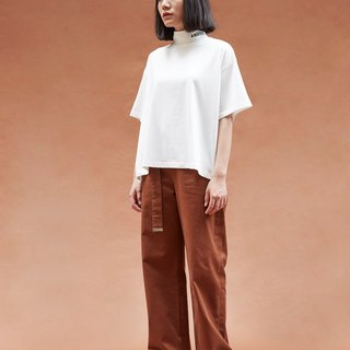 Anode oversized tee in white