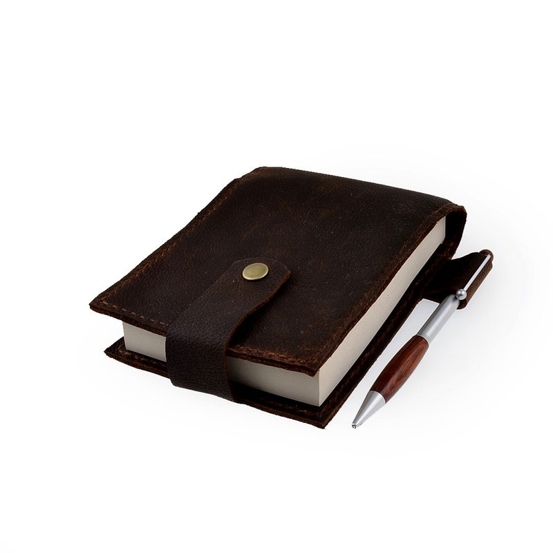 [U6.JP6 handmade leather goods] - handmade sewing leather leather / leather notebook