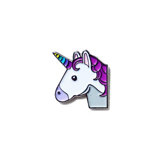 Unicorn Emoji Pin