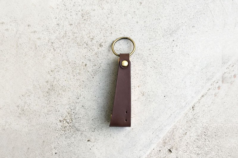 Wonder-Leather Opener Key Ring - Cocoa