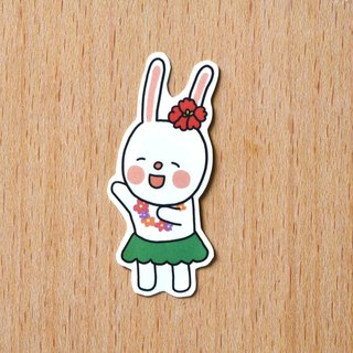 Skirt Dance Rabbit / Single Sticker