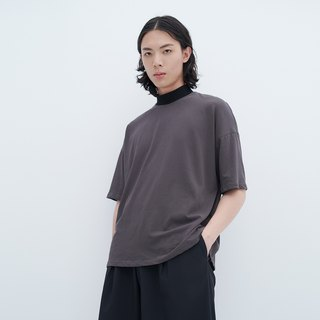 TRAN - Knitted high neck TEE