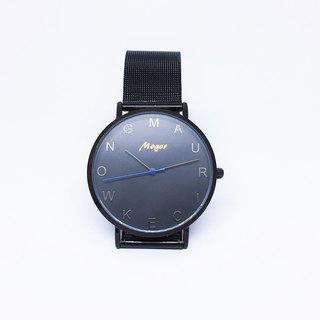 Customized Watches - Black Web Strap Set