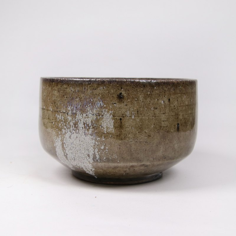 Mingyao kiln firewood ash-glazed tea bowl