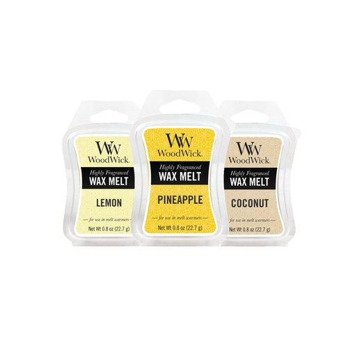 【VIVAWANG】 WW1oz Scented Lavatory Wax (fruity three groups) lemon + pineapple + coconut