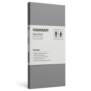 FASHIONARY template Card / Kids / stature