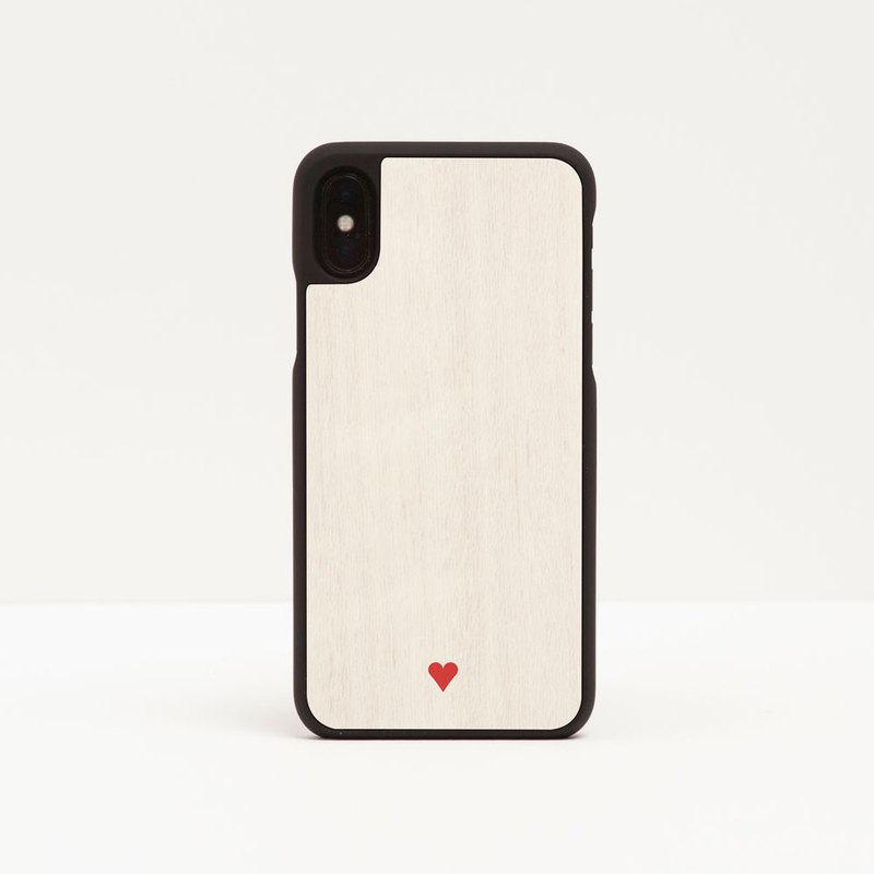 [Pre-order] Log phone case / red love - iPhone Samsung
