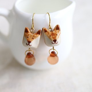 Fox earring