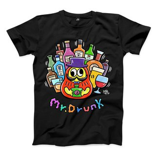 Mr.DRUNK - Black - Neutral T-Shirt