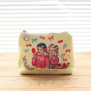 UK imports WU & WU Hair Tidy makeup bag / travel bag / pencil case (M)