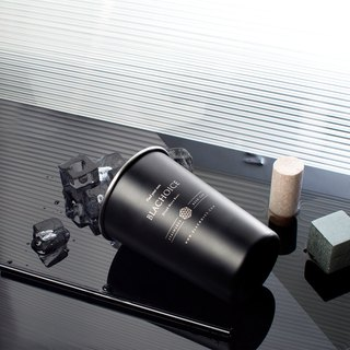 Fog black stainless steel cup