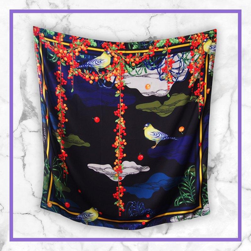小鳥圍巾-小鳥圍巾