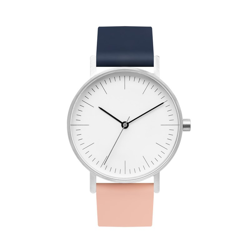 BIJOUONE B001 Series Color Shuangbian Watch Fashion Personality Design Minimalist Style Watch-1307