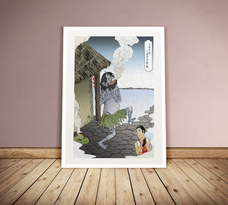 Exquisite ukiyo-e ghost illustration original
