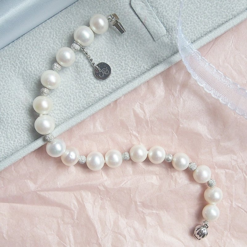 Classic Round Pearl Bracelet | Perfect gift for Wedding, Bride and Bridesmaid