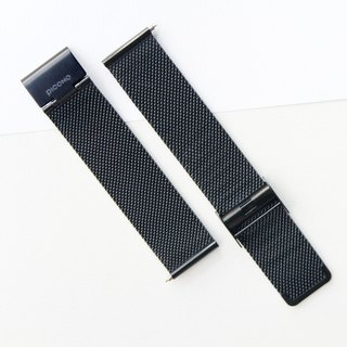 【PICONO】Quick release stainless steel strap-Black