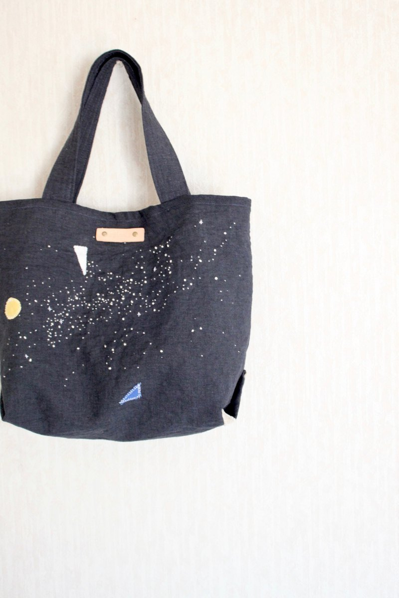 Tote bag Collage Starry sky Milky Way