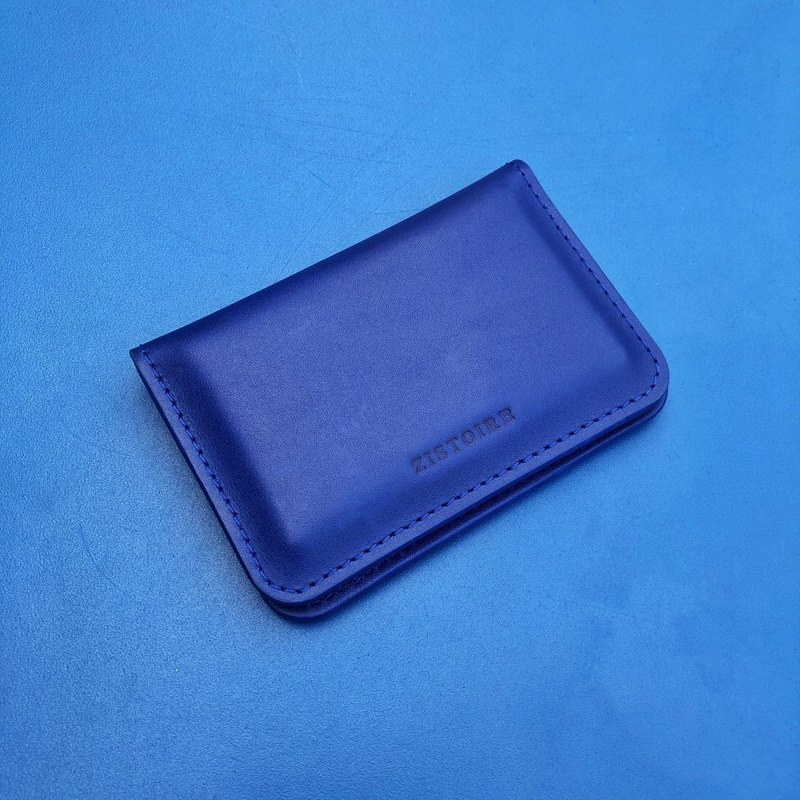 [SIMPLICITY] NameCard Holder / Simple Business Card Holder / Deep Blue