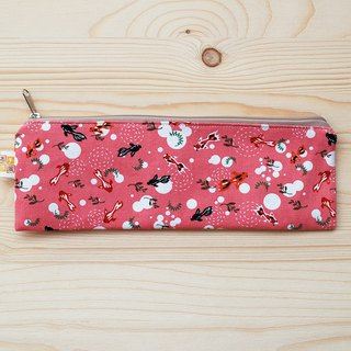 Small goldfish zipper wide chopsticks bag