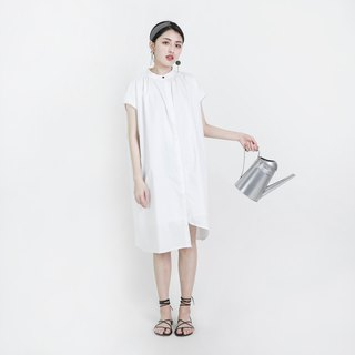 Chemist Chemist Asymmetrical Dress_8SF114_White
