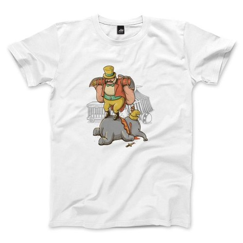 Male cutting off their ears - White - Unisex T-Shirt