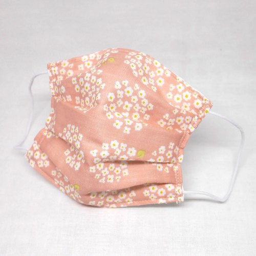 Japanese Handmade gauze mask / Flower