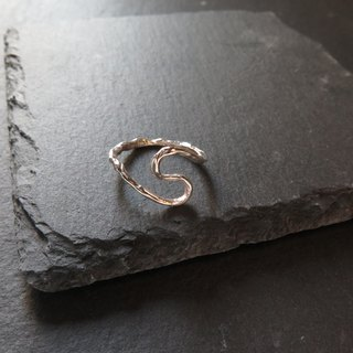 único Series - Water Flow ii  (925 Sterling Silver Ring)
