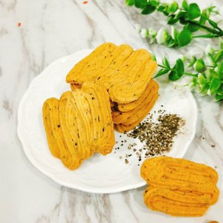 [Taoguo] black pepper Parmesan - salty handmade biscuits / accompanying gifts afternoon tea / snacks