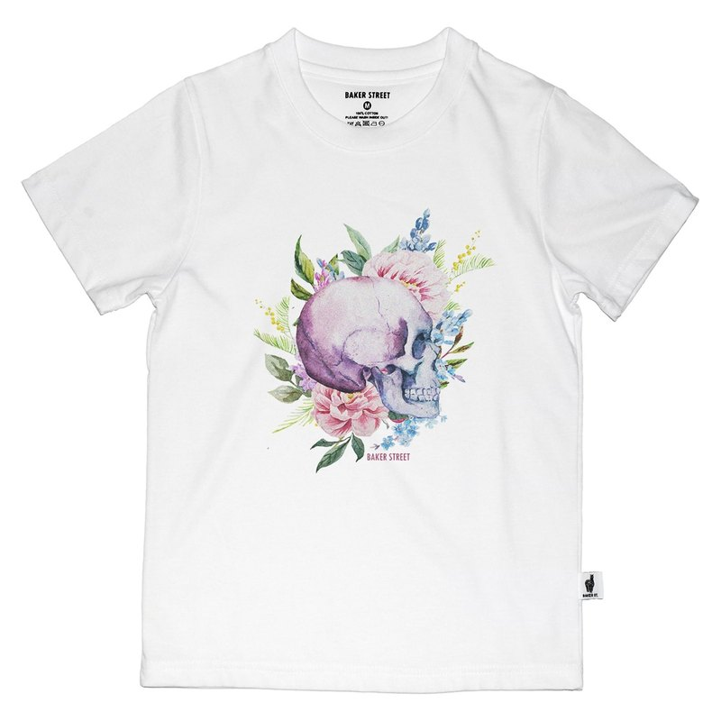 British Fashion Brand [Baker Street] Skull Printed T-shirt for Kids