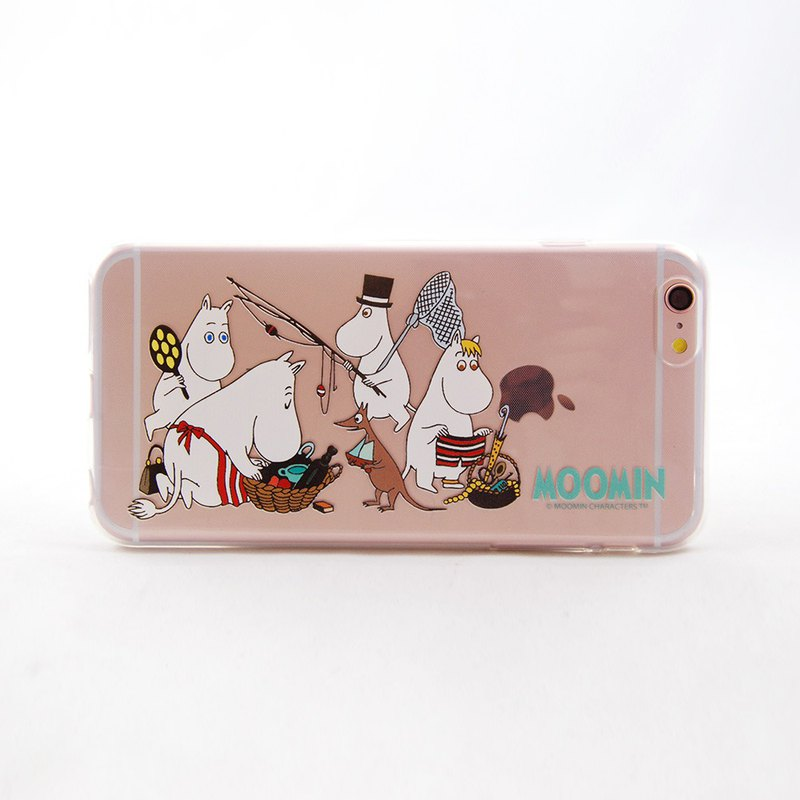 Moomin Moomin authorized - [ready to travel] - TPU phone shell <iPhone/Samsung/HTC/ASUS/Sony/小米> AE82
