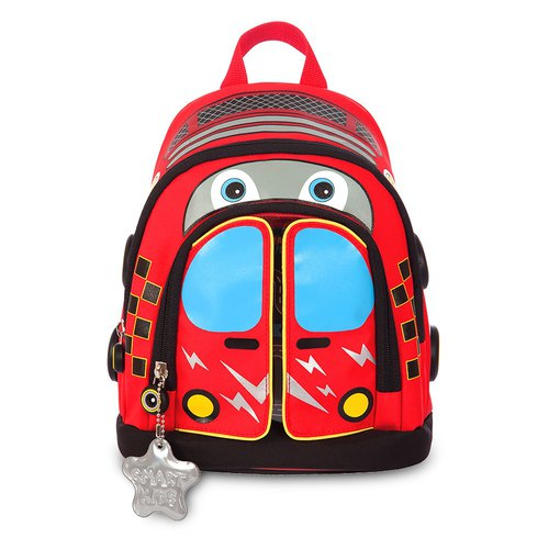 Tiger Family Toddler Backpack - Car Spidi (small) [Gift] 2B Large Triangle Pencil