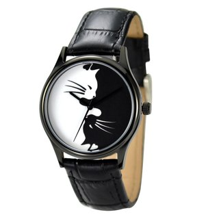 Black Cat Watch Unisex Free Shipping Worldwide