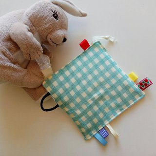 Lake water green Ge Miyue gift appease towel paper towel to appease small squares soothing toys