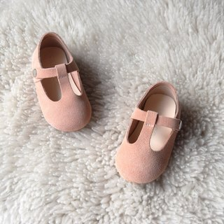 Nude Pink Baby Shoes, Toddler Girl Shoes, Leather Baby Girl Shoes