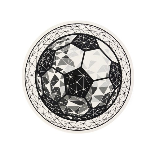 Soccer Water Absorbent Coaster
