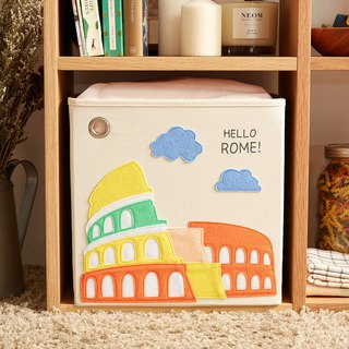 American kaikai & ash toy storage box - Hello ! Rome
