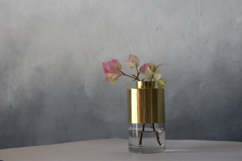 Brass Plant Holder #14