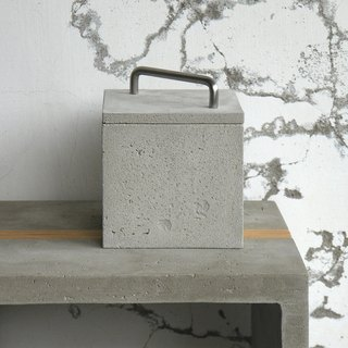 Cement storage box