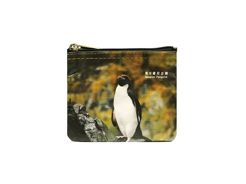 Sunny Bag x Lin Honger Coin Purse - Marconi Penguin Macaroni penguins