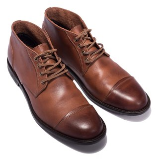 ARGIS classic gentleman in the tube Derby shoes #12103 light coffee - handmade in Japan