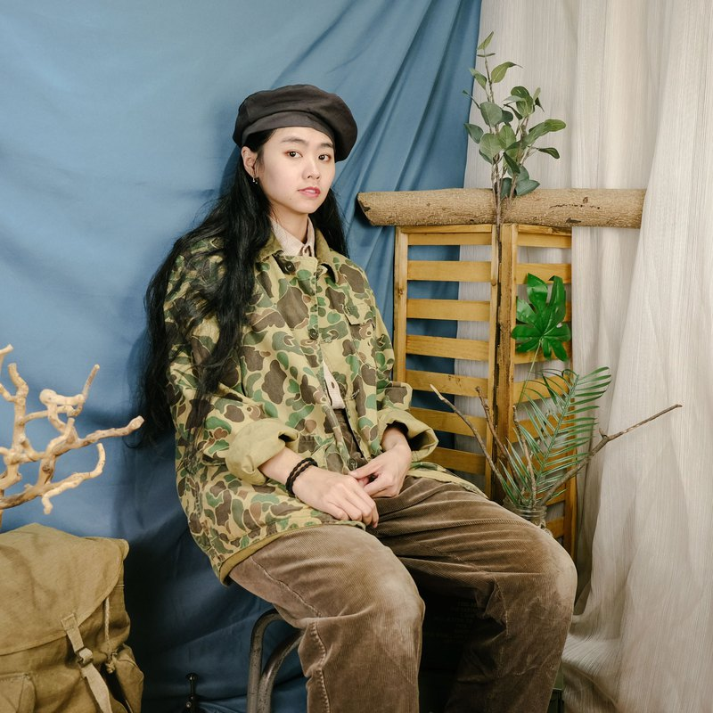 Hunting Duck Camouflage Hunting Jacket A04 Light Color Hunting Camouflage Jacket [Tsubasa.Y Ancient House]