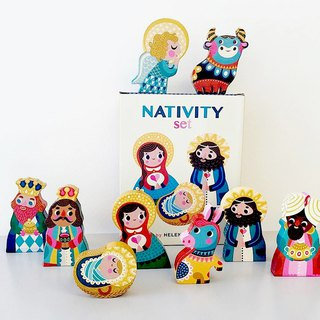 Petit Monkey, the Netherlands - the birth of the characters of the Nativity