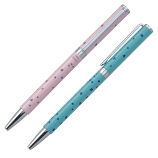 [IWI] Candy Bar Star Star Series 0.7mm Black Oily Antique 2 / In (Blue / Pink IWI-9S520set-ST51)